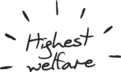 highest welfare